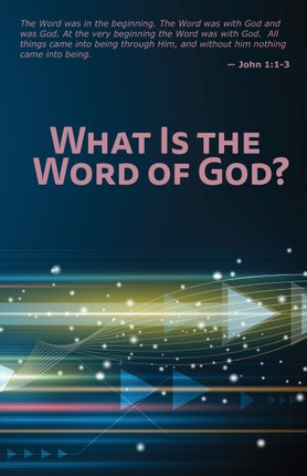 What Is the Word of God?