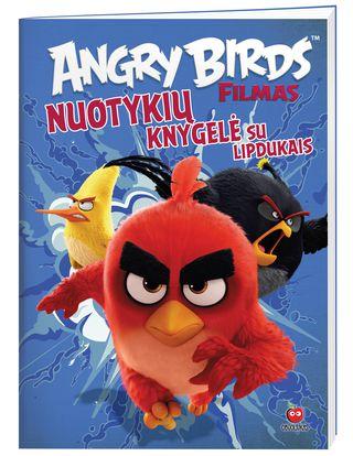 Angry birds. Nuotykių knygelė su lipdukais