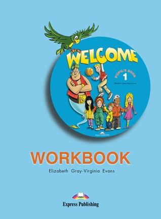 Welcome 1. Workbook. Anglų kalbos pratybos