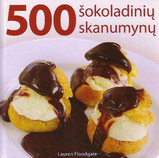 500 šokoladinių skanumynų