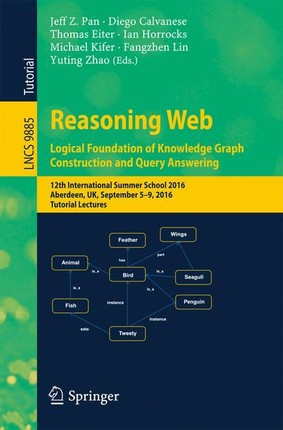 Reasoning Web: Logical Foundation of Knowledge Graph Construction and Query Answering