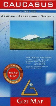 Caucasus Road  Map 1 : 1 000 000