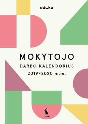 Mokytojo darbo kalendorius 2019–2020 m.
