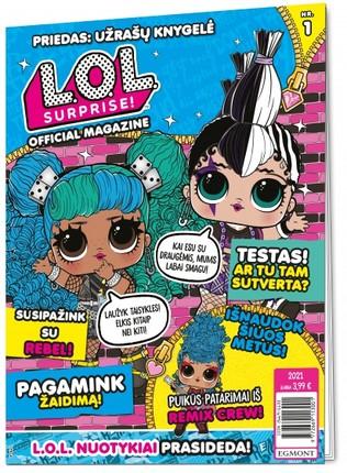 LOL Surprise! Žurnalas 2021/1