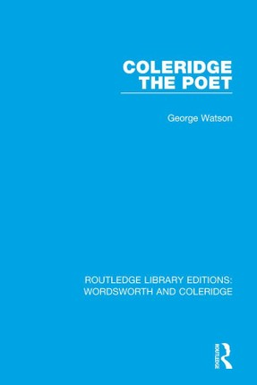 Coleridge the Poet
