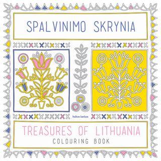 Spalvinimo skrynia. Treasures of Lithuania. Colouring book
