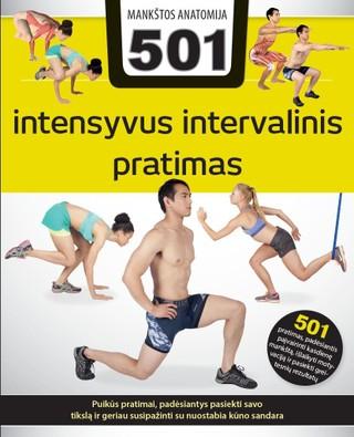 501 intensyvus intervalinis pratimas. Mankštos anatomija