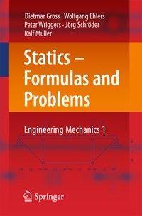 Statics - Formulas and Problems