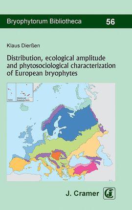 Distribution, ecological amplitude and phytosociological characterization of European bryophytes
