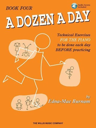 A Dozen a Day Book 4 - Book/Online Audio [With CD]