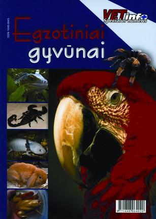 Egzotiniai gyvūnai (knyga su defektais)