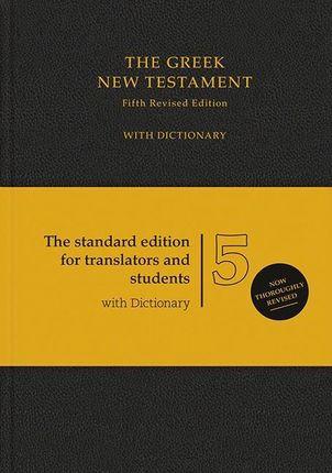 The Greek New Testament. Mit griechisch-englischem Wörterbuch