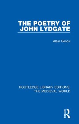 The Poetry of John Lydgate