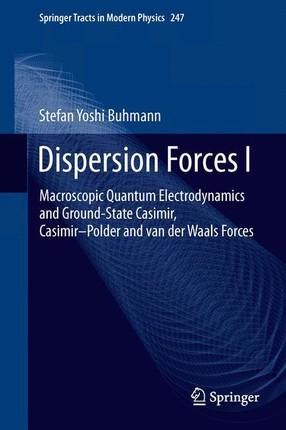 Dispersion Forces I
