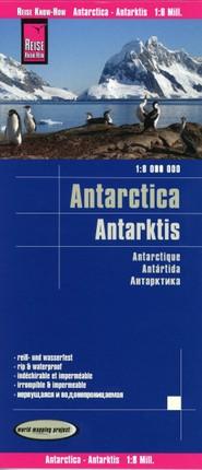 Reise Know-How Landkarte Antarktis / Antarctica 1:8.000.000