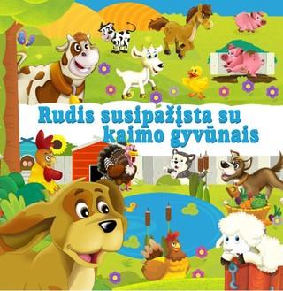 Rudis susipažįsta su kaimo gyvūnais