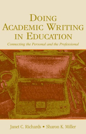 Doing Academic Writing in Education