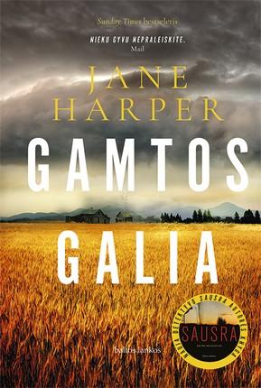 """GAMTOS GALIA: nauja detektyvo """"Sausra"""" autorės knyga"""
