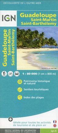 Guadeloupe 1 : 80 000