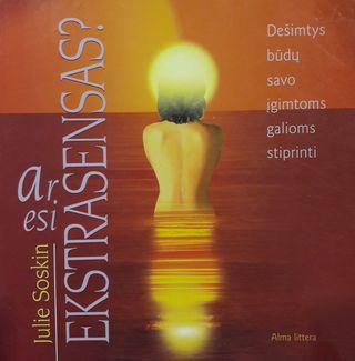 Ar esi ekstrasensas?
