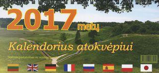 2017 m. kalendorius atokvėpiui
