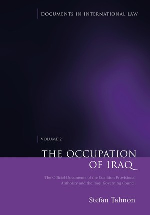 The Occupation of Iraq: Volume 2