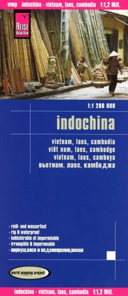 Reise Know-How Landkarte Indochina 1 : 1.200.000 : Vietnam, Laos, Kambodscha