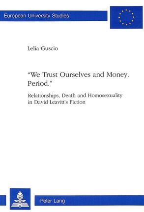 «We trust Ourselves and Money. Period.»