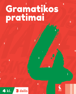 Gramatikos pratimai 4 klasei (3 dalis)