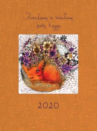 Kasdienių ir šventinių įrašų knyga 2020 m. DK1