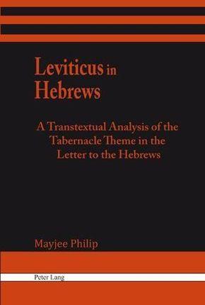 Leviticus in Hebrews