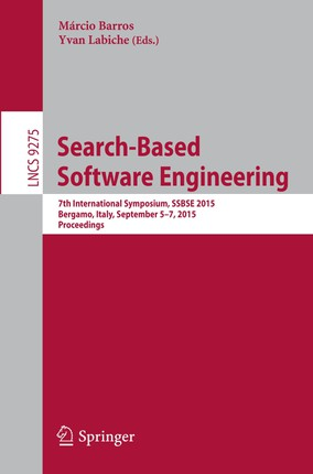 Search-Based Software Engineering