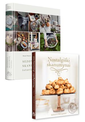 Rinkinys Sezoninių skanumynų istorijos + Nostalgiški skanumynai