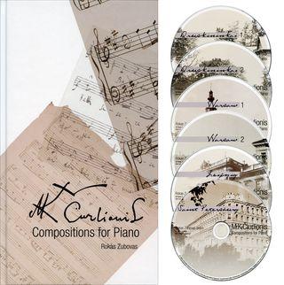 M. K. Čiurlionis. Compositions for Piano (6 CD)