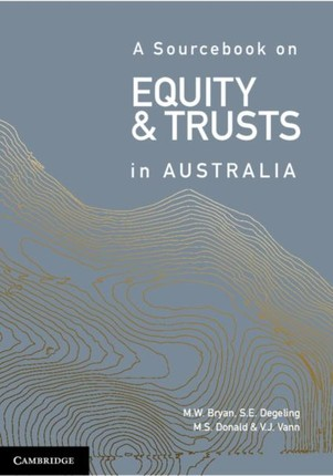 Sourcebook on Equity and Trusts in Australia