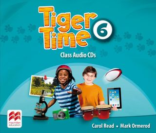 Tiger Time 6. 4 Class Audio-CDs