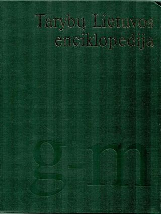 Tarybų Lietuvos enciklopedija 2 tomas