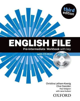 English File: Pre-intermediate. Workbook with key and iChecker