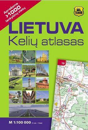 Lietuva. Kelių atlasas M1:100 000