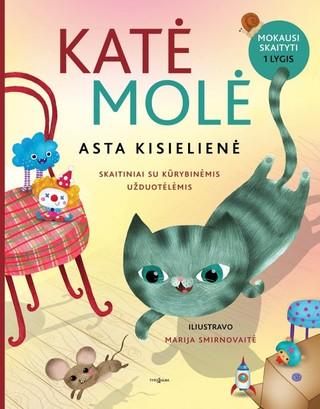 Katė Molė. Skaitiniai su kūrybinėmis užduotėlėmis