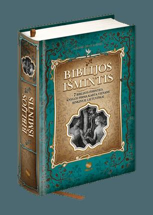 BIBLIJOS IŠMINTIS: 7 Biblijos išminties knygos pirmą kartą viename rinkinyje lietuviškai