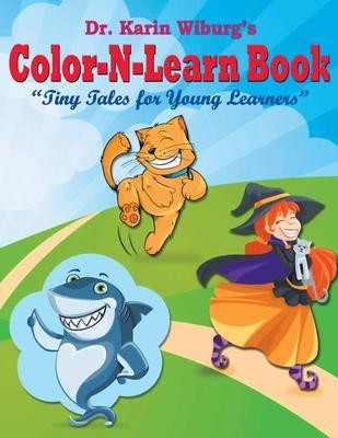 Color-N-Learn Book: Tiny Tales for Young Learners
