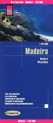 Reise Know-How Landkarte Madeira 1:45.000