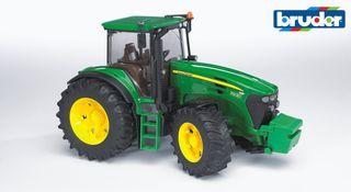 BRUDER traktorius tamsiai žalias John Deere, 03050