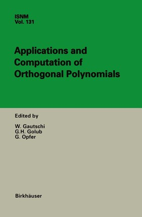 Applications and Computation of Orthogonal Polynomials