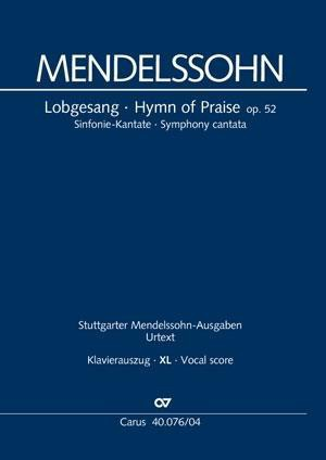 Lobgesang (Klavierauszug XL)