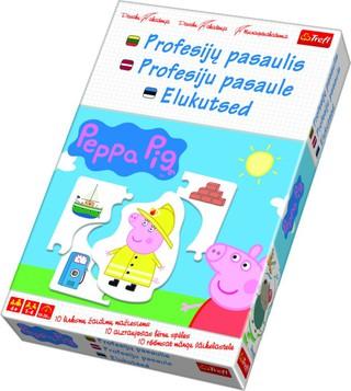 """Mokomasis žaidimas """"Peppa Pig. Profesijų pasaulis"""". Trefl"""
