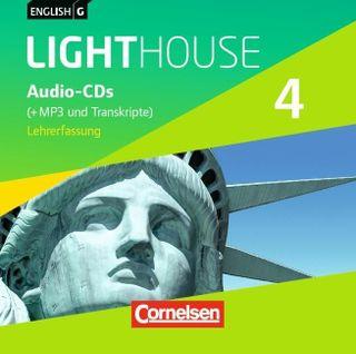 English G LIGHTHOUSE 4: 8. Schuljahr. MP3-CD (Vollfassung)