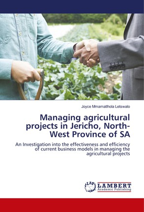 Managing agricultural projects in Jericho, North-West Province of SA