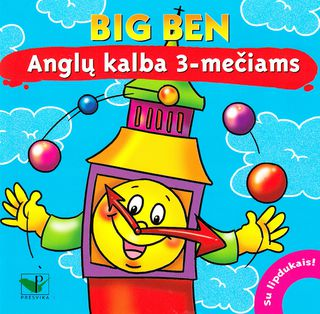 Big Ben. Anglų kalba 3-mečiams